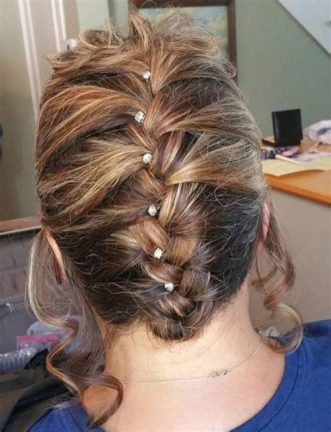 ravishing mother   bride hairstyles wedding hair