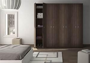 Armoire Metallique Pour Chambre : armoire chambre adulte sur mesure ~ Edinachiropracticcenter.com Idées de Décoration