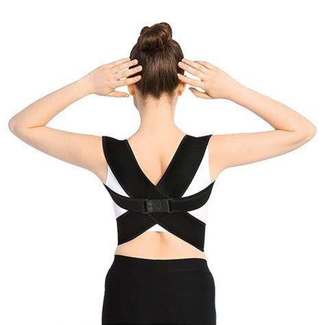 WALFRONT Back Brace Posture Corrector for Women Men,Best ...