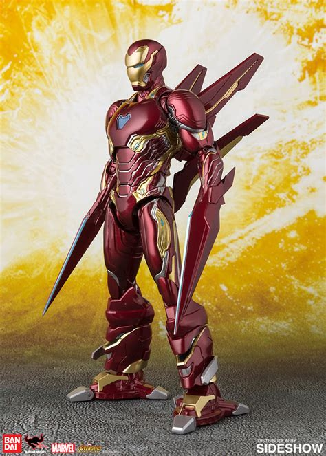 sh figuarts iron man mark  nano weapon set sideshow