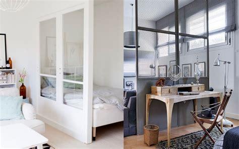 separation salon chambre idee separation studio solutions pour la décoration