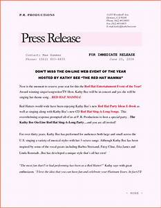 free sample press release template word With concert press release template