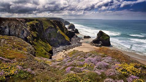 sea cliffs coast sea ocean beach wallpaper
