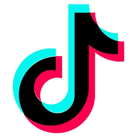 Logo, social media, tiktok icon