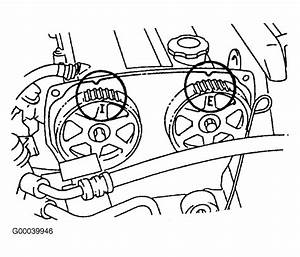 1994 Mercury Tracer Serpentine Belt Routing And Timing Belt Diagrams