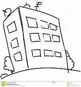 Flats Cartoon Block Illustration Format Vector Sketch Eps10 sketch template