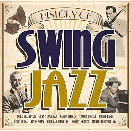 History Of Swing by History Of Swing Jazz Various Cd Walmart