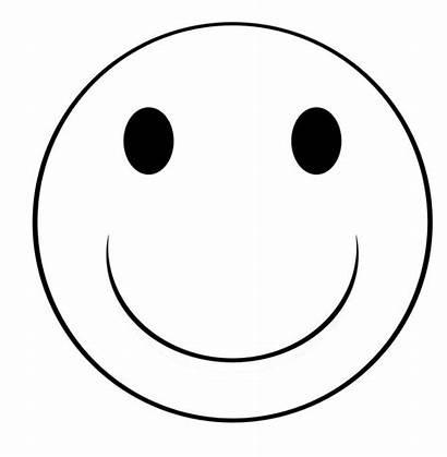 Smiley Face Coloring Neutral Unsure Clip Happy