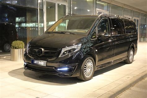 Mercedes Benz V Class Black Crystal For Vip Persons By