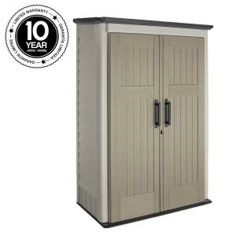 Rubbermaid Vertical Storage Shed Home Depot by Rubbermaid 3 Ft X 4 Ft Large Vertical Storage Shed