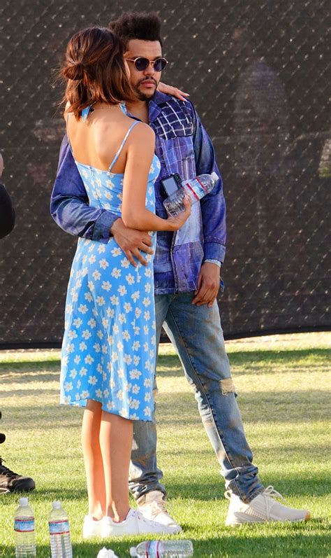 Selena Gomez & The Weekend Share Selfie from Coachella ...