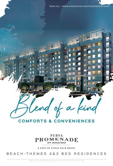 Purva Promenade - Apartments for sale in Hennur Road ...