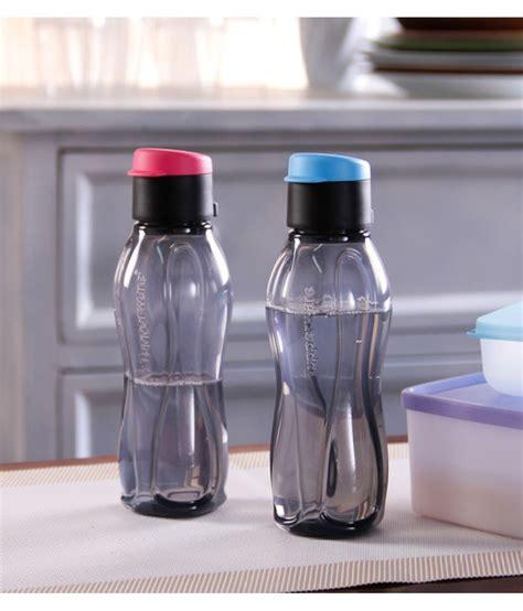 tupperware black 310 ml fridge bottle set of 2 buy at best price in india snapdeal