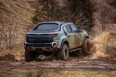 Chevrolet Colorado Zh2 Driving The Insane Concept Truck