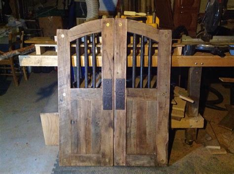 rustic saloon doors  wonderful neighbor
