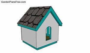 small dog house plans free garden plans how to build With small dog house plans