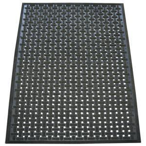 amazoncom rubber cal   bk kitchen mat anti slip