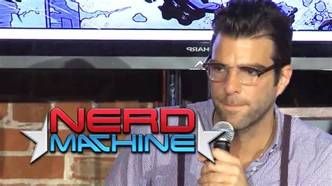 zachary quinto production company conversation with zachary quinto and friends nerd hq