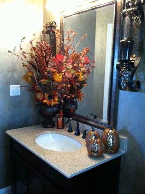 Easy Decorating Ideas For Bathroom by Fall Bathroom Decorating Ideas Easy Diy Ideas From Involvery