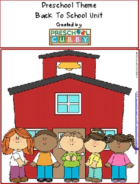 back to school theme for preschool 954 | back to school theme resource
