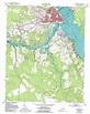 New Bern topographic map, NC - USGS Topo Quad 35077a1