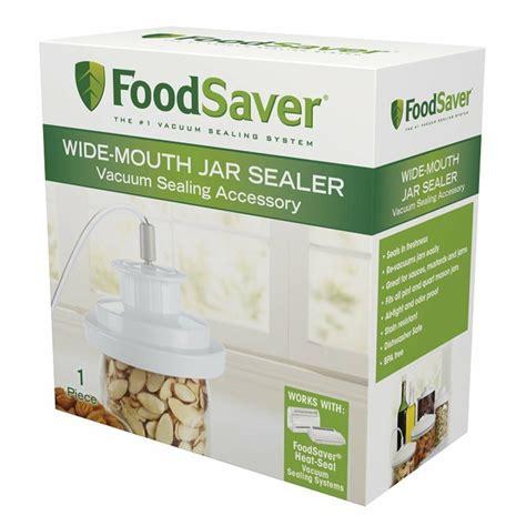 foodsaver air tight wide mouth mason jar lid sealer  canning food saver  ebay