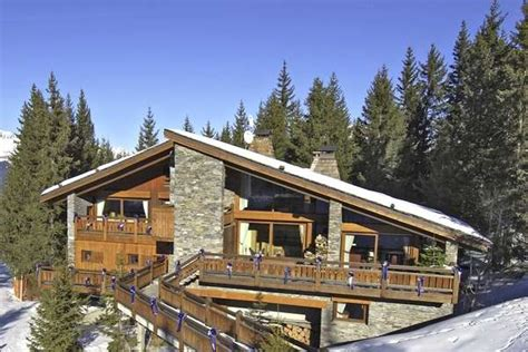 courchevel one of the top ten ski in out chalets in the alps