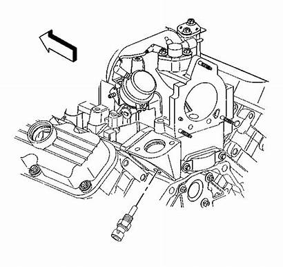 Sensor Coolant Location Ect Temp Engine 2009