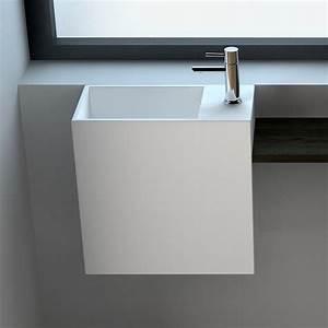 Meuble Haut Profondeur 20 Cm : perfect lavemain minral x cm with rangement profondeur 20 cm ~ Dailycaller-alerts.com Idées de Décoration
