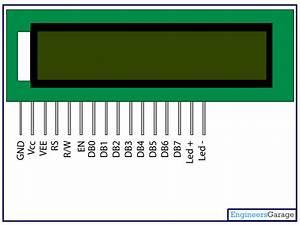 16 X 2 Lcd Datasheet
