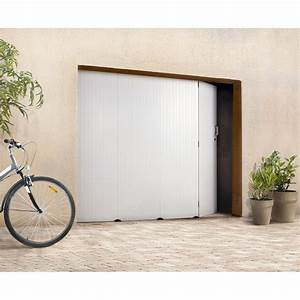 porte garage coulissante pvc leroy merlin tableau With porte de garage coulissante avec porte en pvc leroy merlin