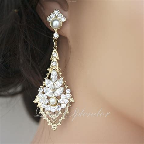 Chandelier Earrings Wedding by 301 Moved Permanently