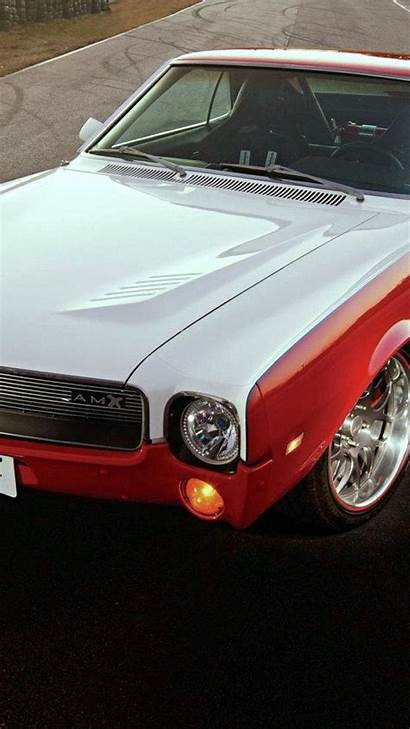 Muscle American Wallpapers Phone 1969 Amx Retro