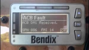 Bendix Wingman Acb Fault Codes