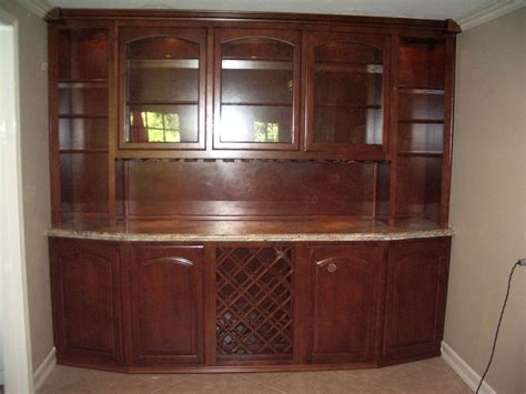 Home Bar Cabinets by Built In Home Bar Cabinets In Southern California