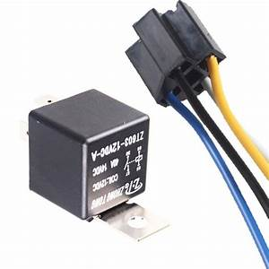 Ee Support 10 Pcs 12v 40a Amp Spst Relay  U0026 Socket Harness