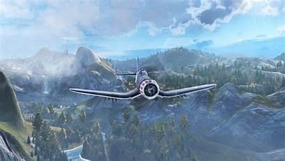 Corsair F4u Vought Chance Whistling Death Warplanes