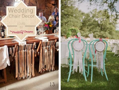 Beautiful Chair Decorations Wedding Ideas The Wedding Of