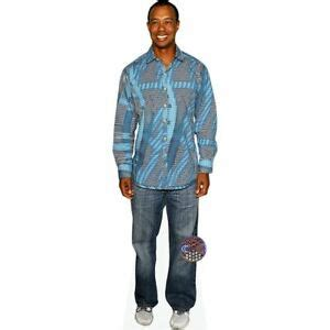 Tiger Woods (Blue Top) Life Size Cutout   eBay