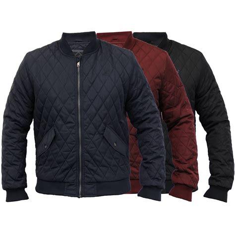 mens quilted coat mens jacket kangol ma1 harrington coat padded