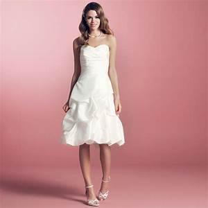 Robe Courte Mariée : robe de mari e courte taffetas ivoire helena ~ Melissatoandfro.com Idées de Décoration
