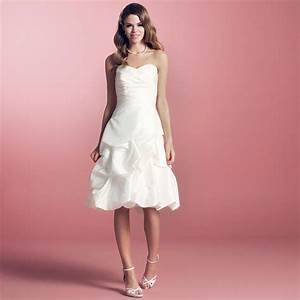 robe de mariee courte taffetas ivoire helena With robes de mariee courte