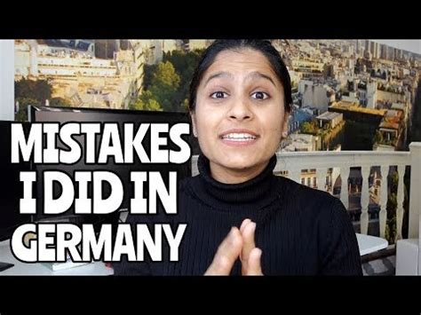 Life Germany Mistakes Were Made Nikita Vlogs