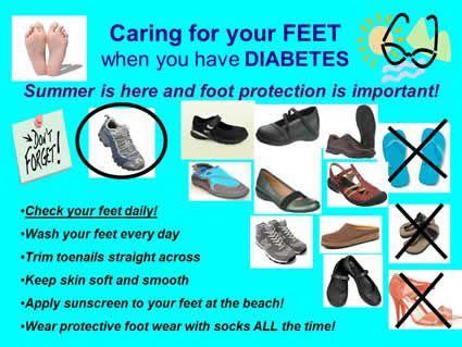 diabetic teaching tool  nurses view flyer