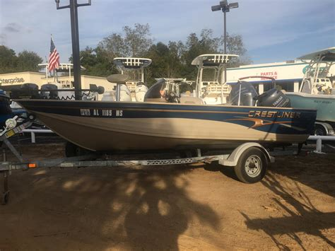 Crestliner Boats For Sale by Used Bass Crestliner Boats For Sale Boats