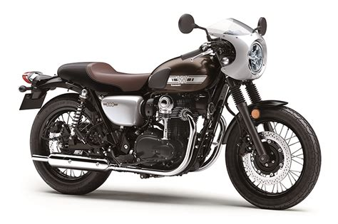 Review Kawasaki W800 by 2019 Kawasaki W800 Cafe Look Review