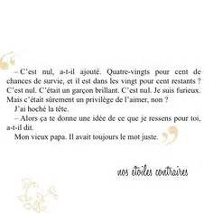 The Fault In Our Resume En Francais by 1000 Images About Nos Etoiles Contraires On