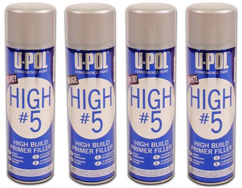 U-pol Clear High Gloss Clearcoat Spray Can Auto Paint