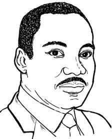HD wallpapers free coloring page of dr martin luther king jr