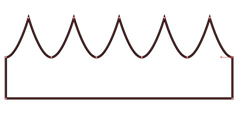crown template clipart